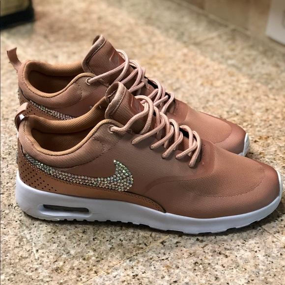 f8276e25de82 Custom Bling Womens Nike Size 9